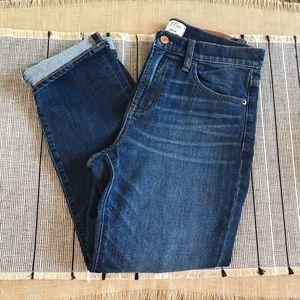 J. Crew Vintage Leopold Wash Crop Jeans